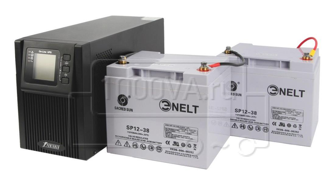 Комплект ИБП с внешним аккумулятором для циркуляционного насоса отопления