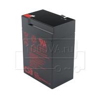 Аккумулятор CSB GP 645 для фонаря 6 В 4,5 Ач