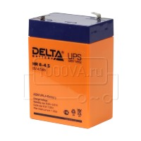 Аккумулятор DELTA HR 6-4.5 для фонаря 6 В 4,5 Ач