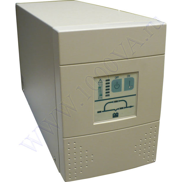 Источник бесперебойного питания (ИБП/UPS) ДПК-1/1-1-220, 1000ВА/700Вт, RS-232, автономия оптеделяется внешними...